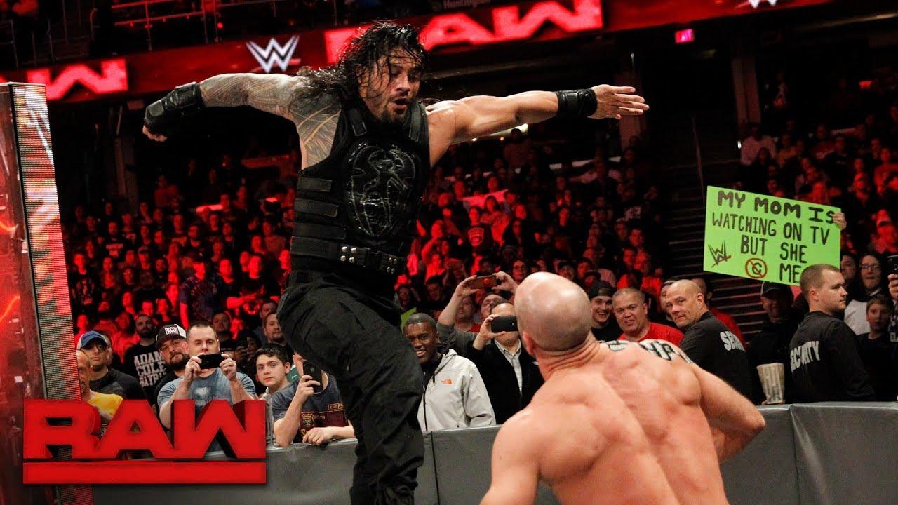 roman vs tomas wrestling