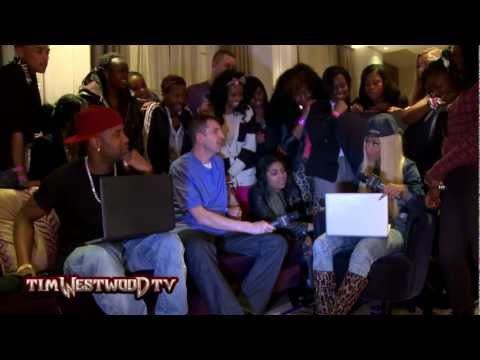 Nicki Minaj plays snippets from 'Pink Friday - Roman reloaded The Re-Up' - Westwood