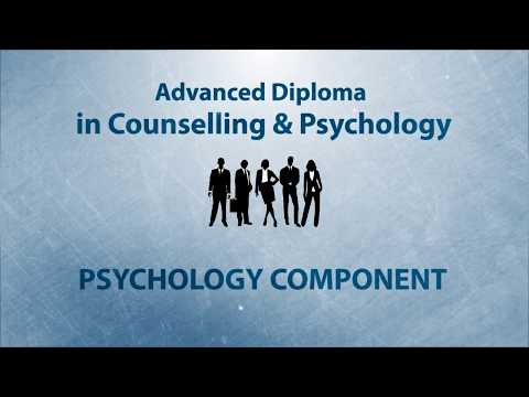 Advanced Diploma in Counselling and Psychology - ACC