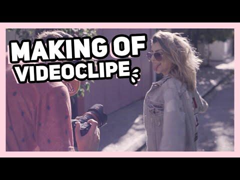 Por trás das câmeras de um CLIPE!!! Make Me Wanna - Selva