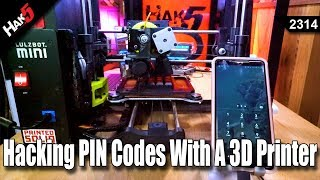 Hacking PIN Codes with a 3D Printer - Hak5 2314