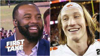 Tajh Boyd guarantees a Clemson CFP championship, sympathizes with Trevor Lawrence | First Take