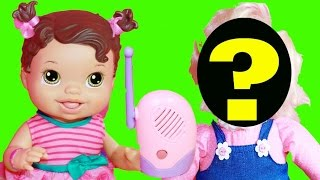 Baby Alive SCARY Baby Doll Baby Monitor Spiderman Toys Surprise Mystery Baby Alive Story Video