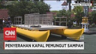 Inilah Katamaran, Perahu Pemungut Sampah Berkapasitas 1,5 Ton