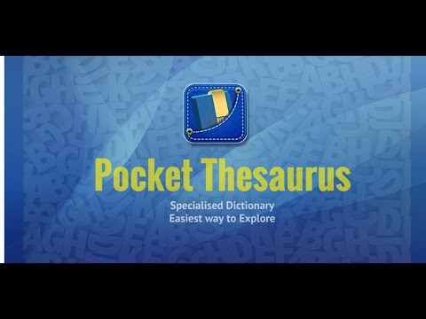 Pocket Thesaurus Apps On Google Play