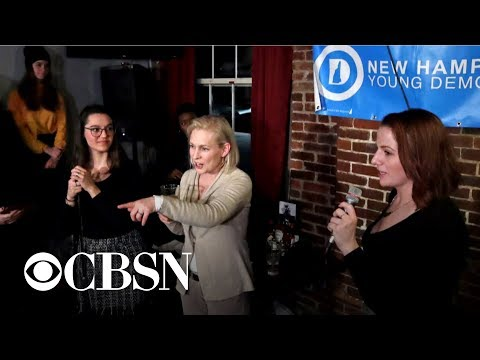 Gillibrand holds campaign in New Hampshire