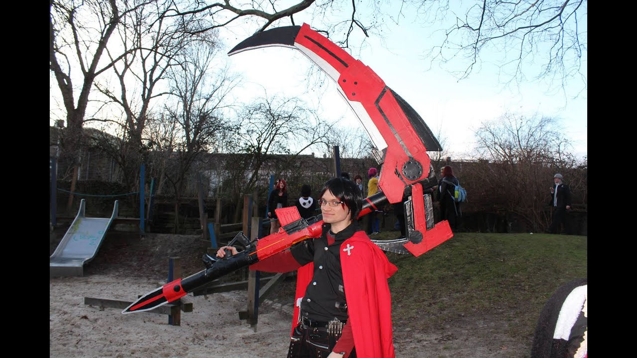 Ruby S Crescent Rose Scythe From Rwby That Can Shoot And