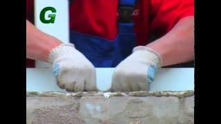 Применения ленточных герметиков ВИКАР при монтаже окон(Как правильно установить окно? В этом видео вы найдете ответы как правильно монтировать пластиковые окна..., 2016-02-12T10:09:36.000Z)