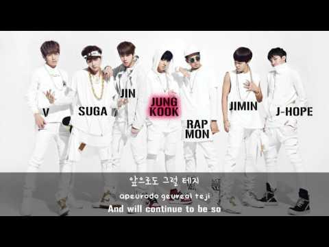 BTS (방탄소년단) - We On [Lyrics Han|Rom|Eng]