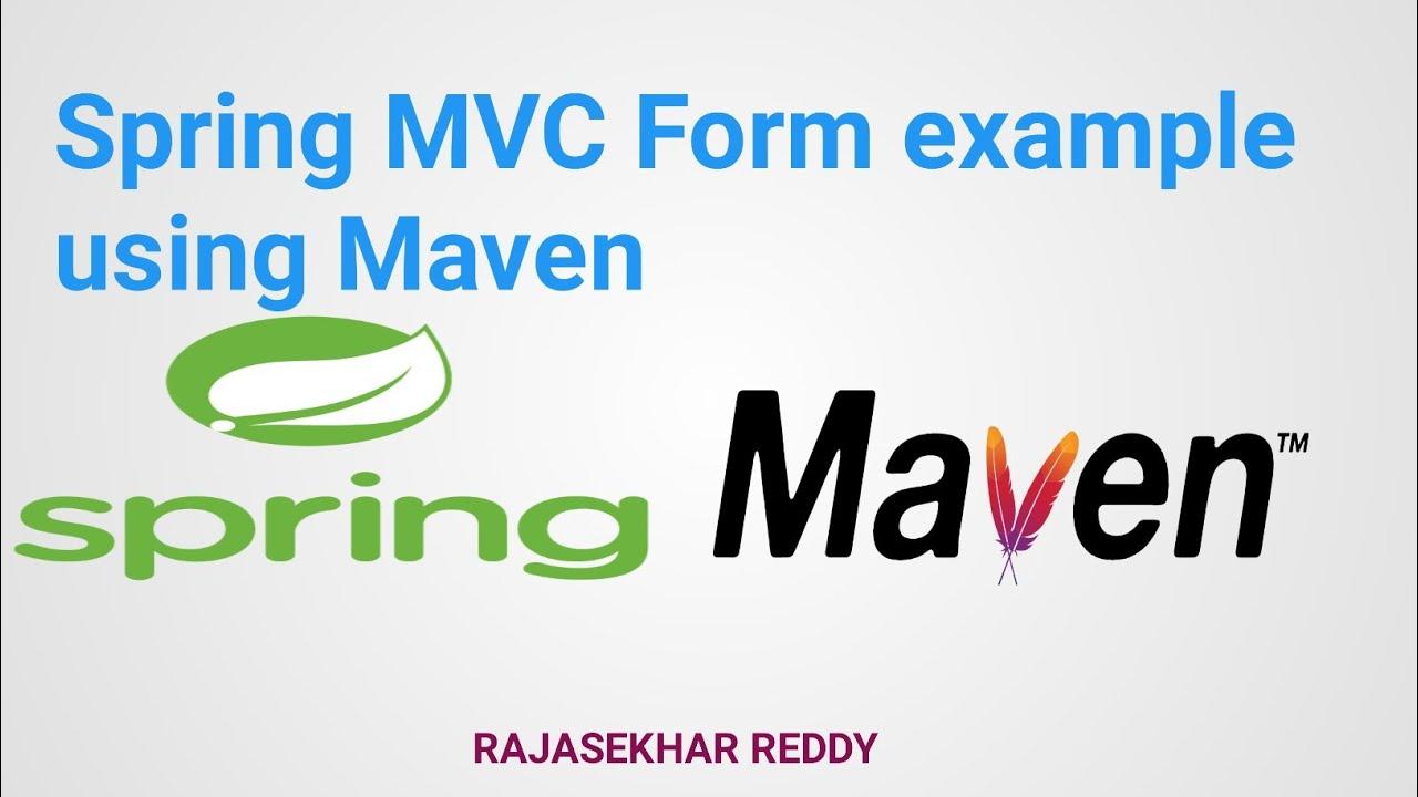Spring MVC Form example using Maven |Spring mvc form example |Spring MVC  Tutorial for Beginners