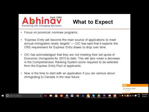 Canada PR Low Score ? - Explore PNP | Abhinav Outsourcings
