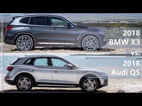 2018 BMW X3 Vs 2018 Audi Q5 (technical Comparison)