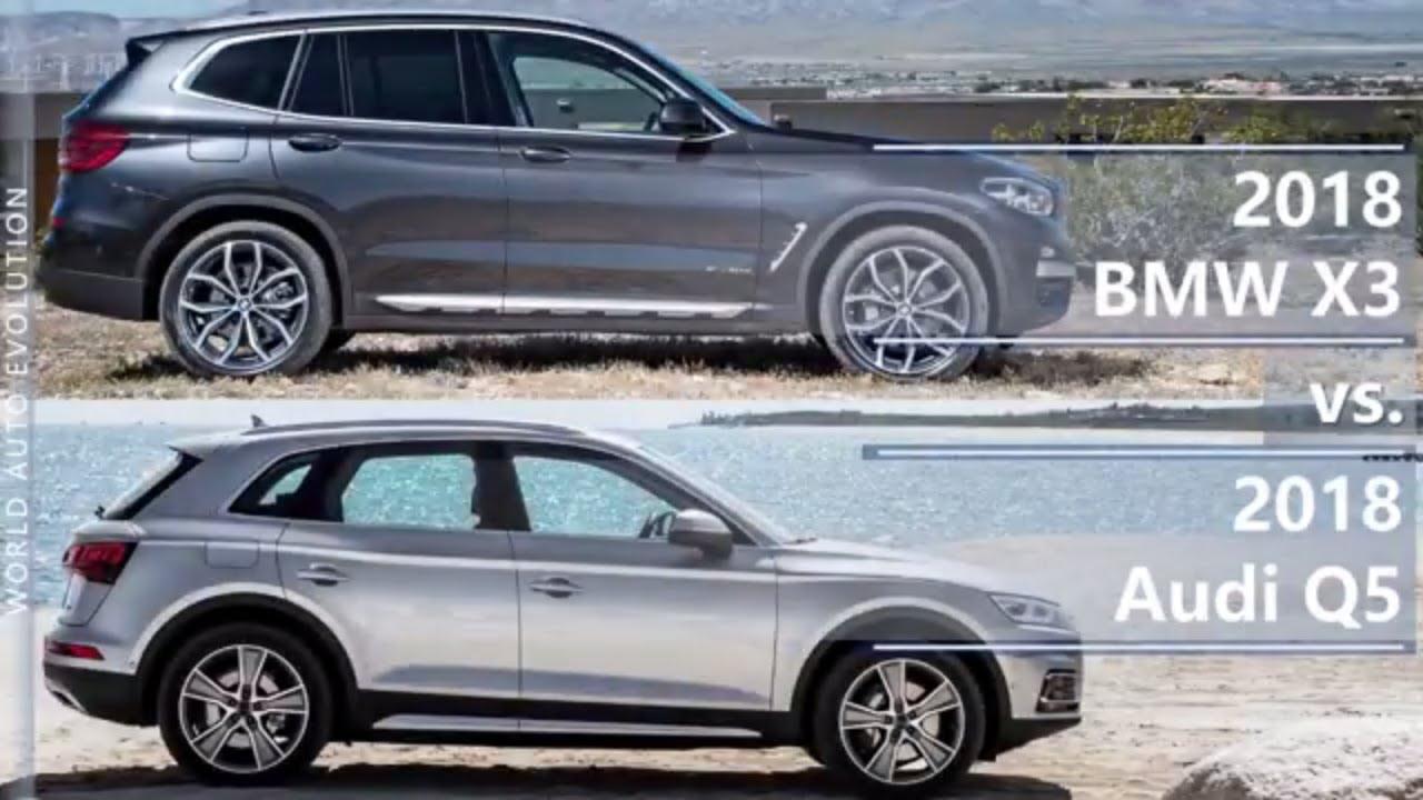 2018 Bmw X3 Vs Audi Q5 Technical Comparison