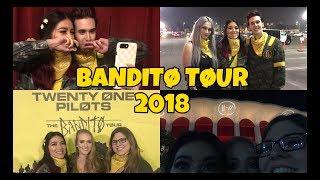 TWENTY ONE PILOTS BANDITO TOUR VLOG (inglewood, ca)
