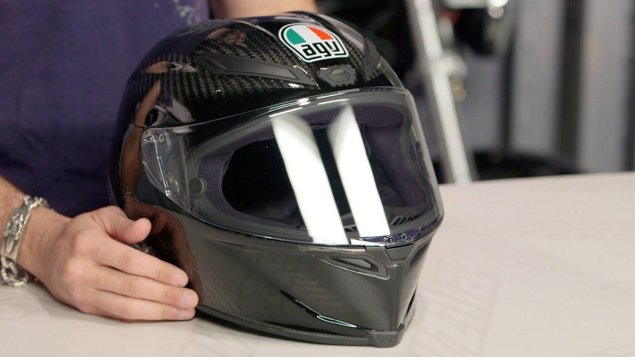 Carbon Fiber Motorcycle Helmet >> AGV Pista GP Carbon Helmet Review at RevZilla.com - YouTube