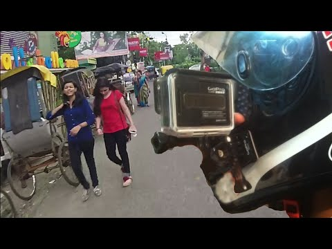 How to Correctly Mount GoPro camera to your Motorcycle Helmet | RWR