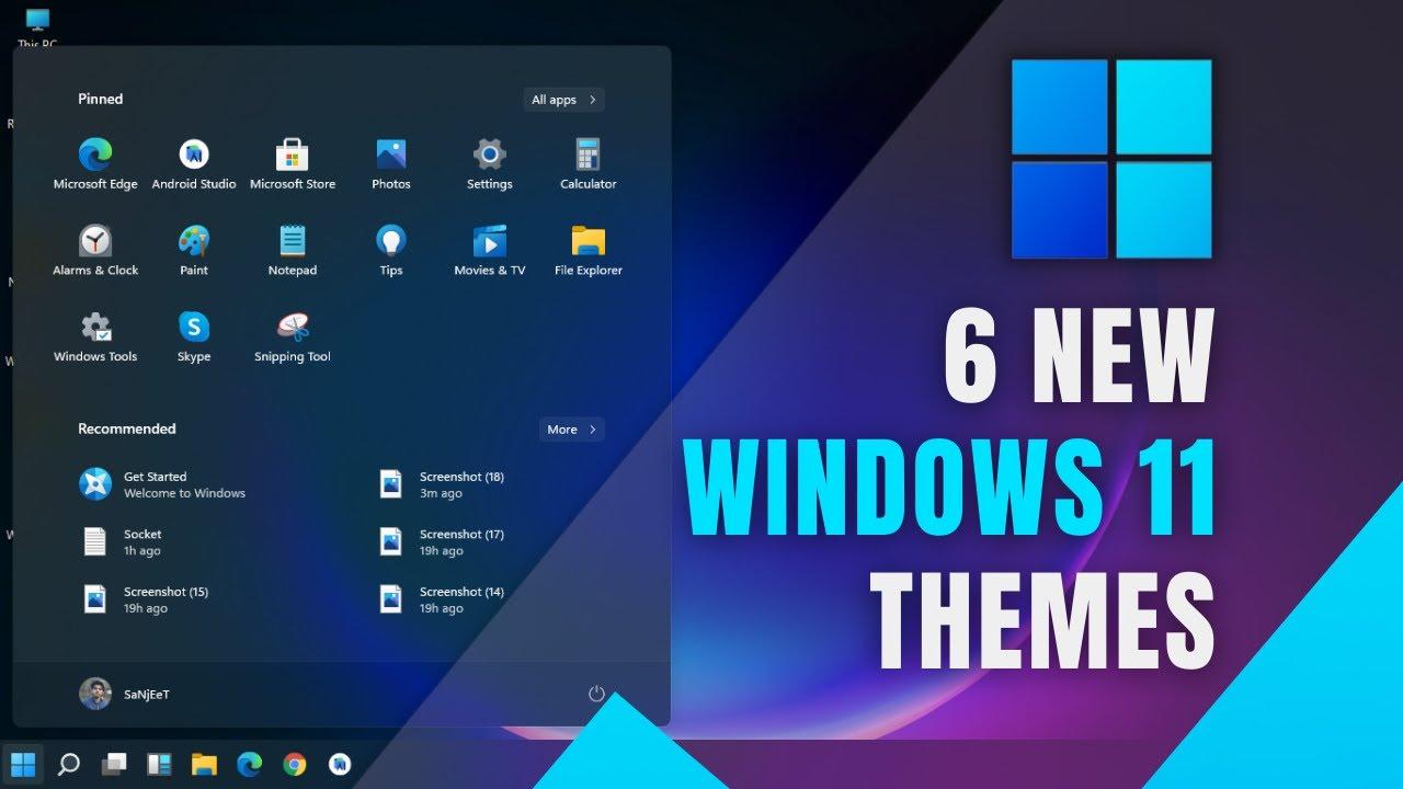 10 Best Windows 11 Themes for Desktop [2021] (Free)