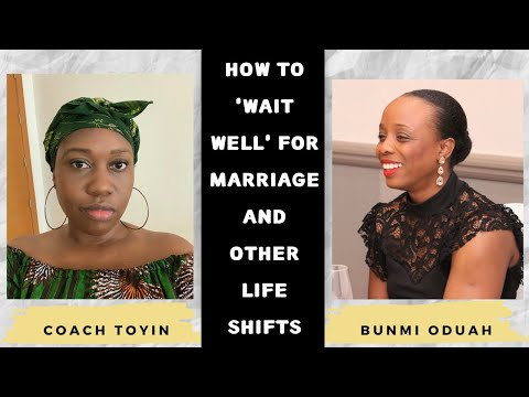Do's and Don'ts While You Wait For Marriage (or other life shifts)