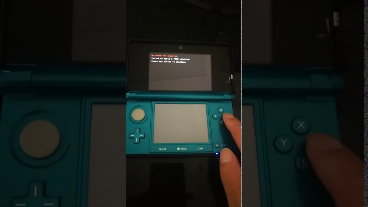 3DS System 11 8 0-41 Update Blocks Consoles with Lum3ds after B9S CFW