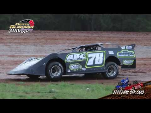 #78 Matthew Brocato - 604 Double Features - 7-14-18 North Alabama Speedway - In Car Camera