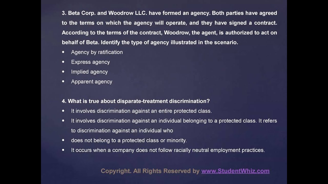 mgt 4481 chapter 1 2 discussion questions 11 identify statute law associating to general wellness and importance of ensuring that others are aware of own mgt 4481 chapter 1-2 discussion questions.