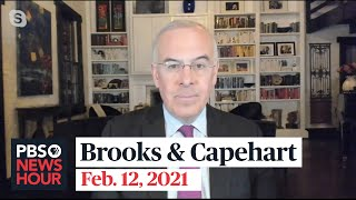 Brooks and Capehart on Trump's Senate trial and Biden's pandemic response