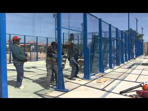 CONSTRUCCIÓN DE LAS PISTAS DE PADEL Y PARKING EXTERIOR CUARTE DE ...