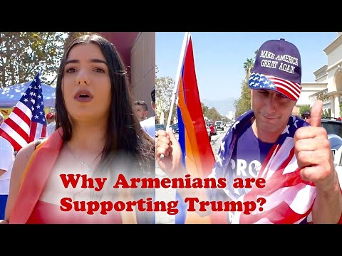 Why Armenians are Supporting Trump? Your Thoughts?