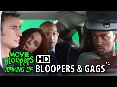 Excellent Captain America The Winter Soldier 2014 Bloopers Gag
