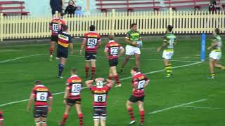 Kim Bateman Shute Shield 2018 Rugby Highlights