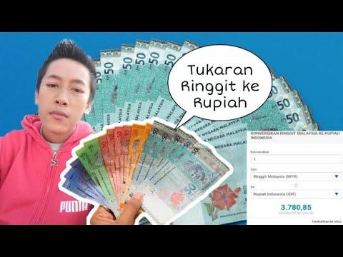 Tukaran Ringgit Ke Rupiah Terbaru 03 April 2020 Awan Thecapitalis Vlog Youtube