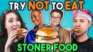 Stoners Try Not To Eat Challenge - Stoner Movie Food | Peopl...