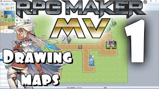 RPG Maker MV Tutorial #1 - Drawing The Map!