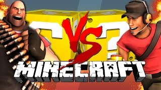 Minecraft: TEAM FORTRESS 2 LUCKY BLOCK CHALLENGE | Capture the Flag!