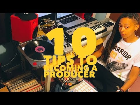10 Tips for Becoming A Music Producer Let's Chat