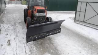 Отвал (снежный) с гидравлическим поворотом