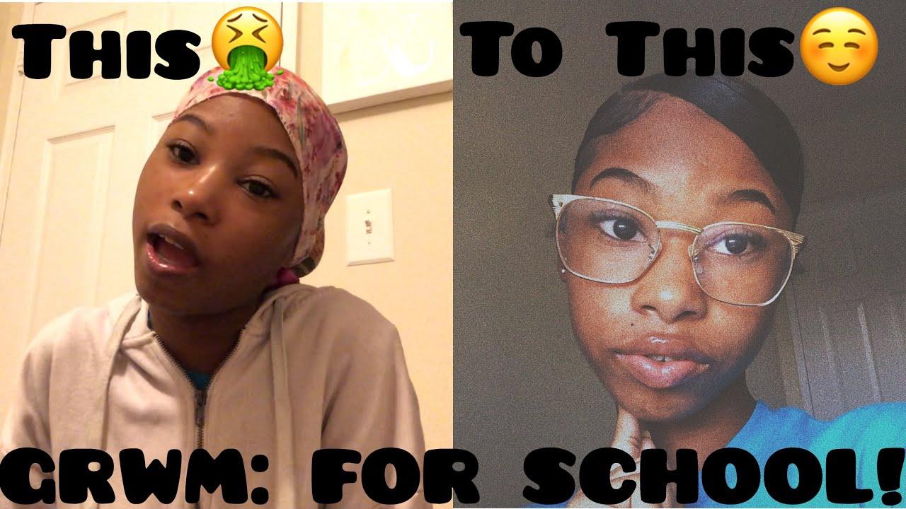 GRWM: Daily School Morning Routine (Freshman Year)