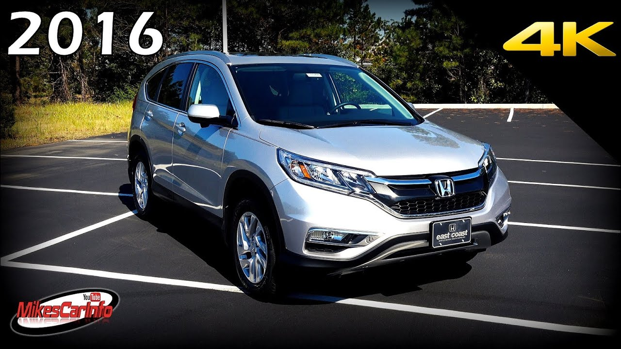 2016 honda cr-v ex-l - ultimate in-depth look in 4k - youtube