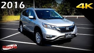 2016 Honda CR-V EX-L - Ultimate In-Depth Look in 4K