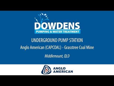 Underground Coal Mine Pump Station