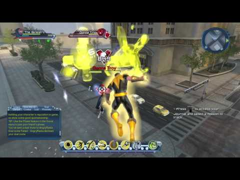 DCUO - Sinestro vs. Donna Troy