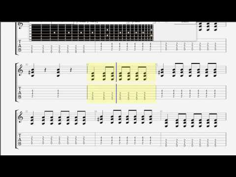 Blink 182   Dumpweed GUITAR 1 TABLATURE