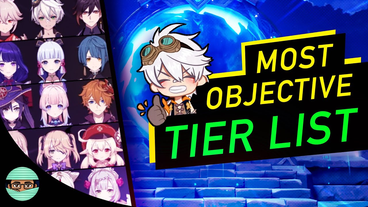 2.2 Tier List (Featuring Mtashed) Spiral Abyss 36 Star Ranking for Most Used Char  | Genshin Impact