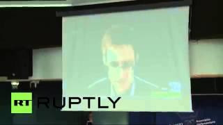 08.04.2014: Выступление Эдварда Сноудена на слушаниях ПАСЕ (полная версия)