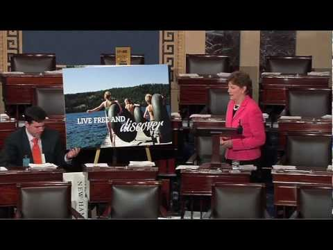 SHAHEEN ON SENATE FLOOR: COME TO NEW HAMPSHIRE!