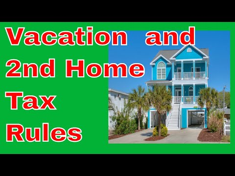 Vacation Homes Tax Rules - Don't Get Screwed By The IRS