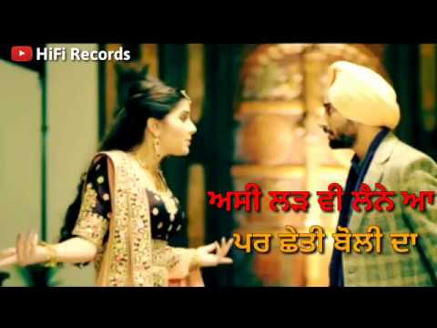 Main Te Meri Jaan 😍   Satinder Sartaj    Whatsapp Instagram Story    Hifi records