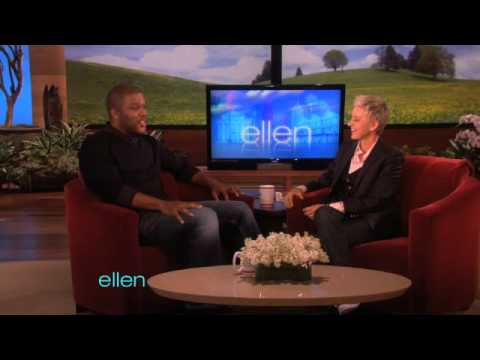 Tyler Perry Meets Ellen