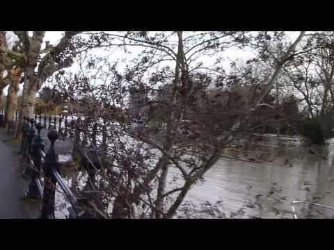 Thames Flooding at Abingdon Xmas Day 2012