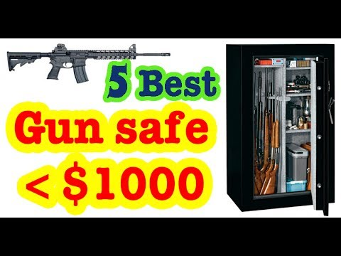 Best Gun Safes Under 1 000 Dollars To Buy In 2017 Youtube
